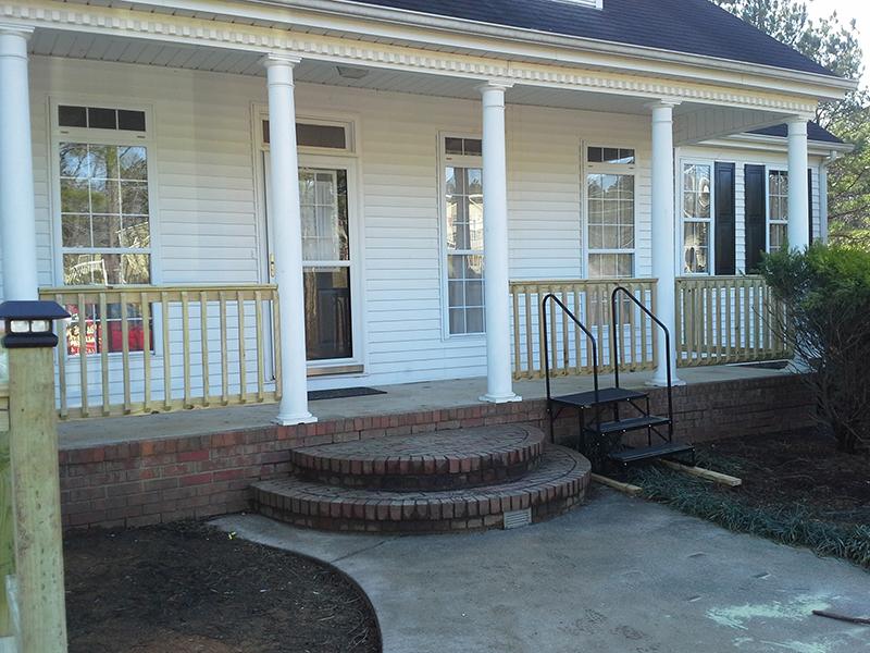 Handrail Installation - Dalton, Ga.