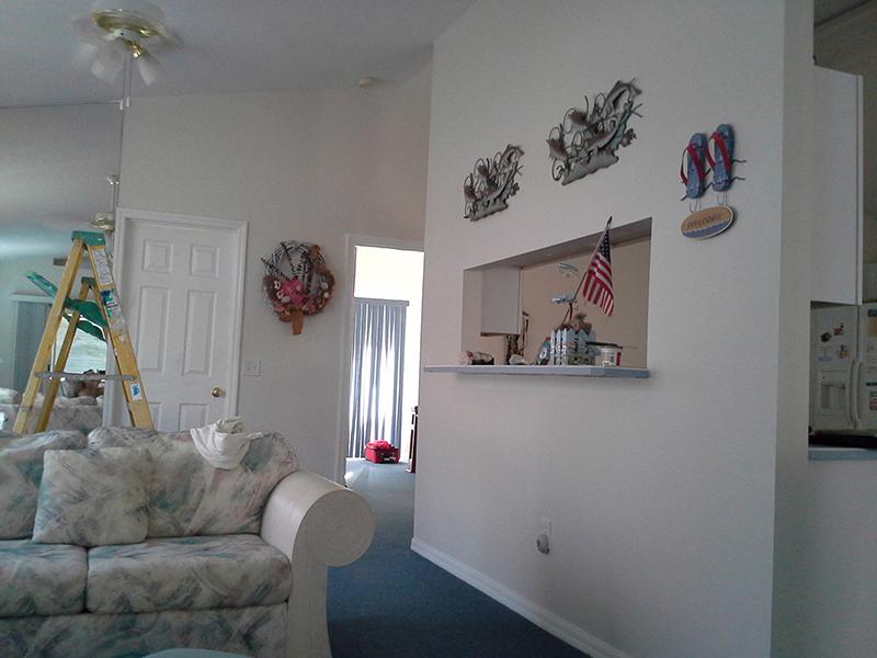 Interior Painitng - Flagler Beach, Fl.