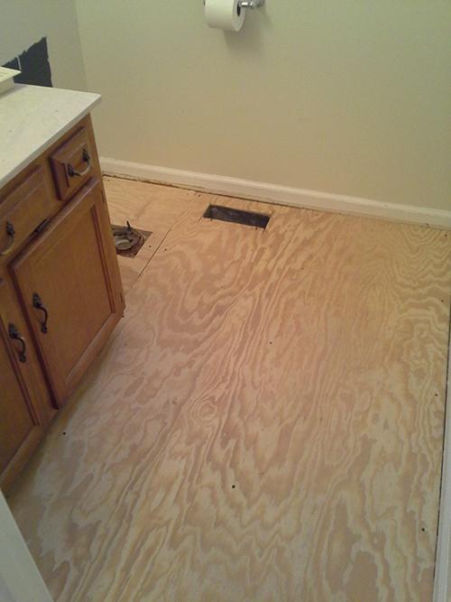 Water Damage Floor Repair (2)